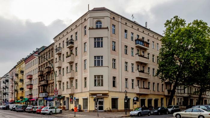 Driesenetrasse building