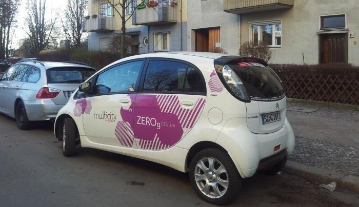 שיתוף רכבים, שמחה כפולה - שירות שיתוף רכבים בברלין