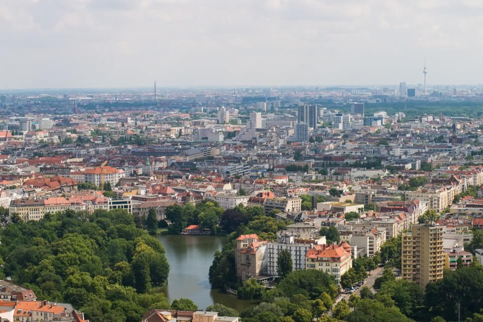 מיליון מר של נדלן פנוי בבירת גרמניה